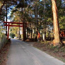 鹿島神宮 北の一之鳥居「戸隠神社」