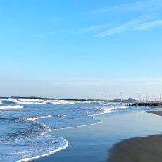 鹿嶋の海(1)下津海水浴場